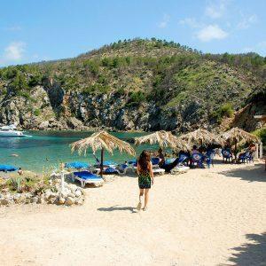 Ibiza-strand-cala d'en serra