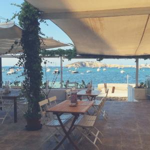 Ibiza - Talamanca - restaurant