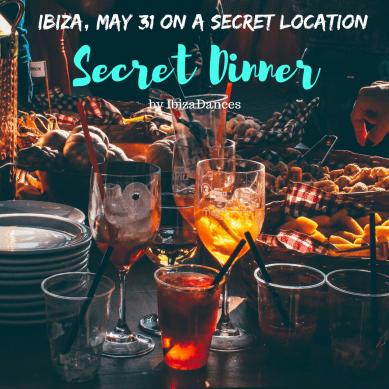 Ibiza Secret Dinner, 31 mei 2018